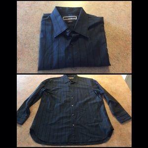 Men's Michael kors button front shirt